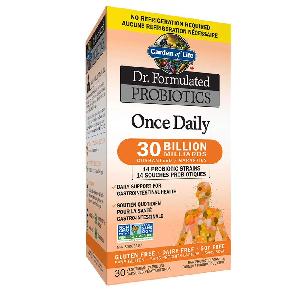 : Garden of Life Dr. Formulated Once Daily 30B Probiotics, Shelf Stable