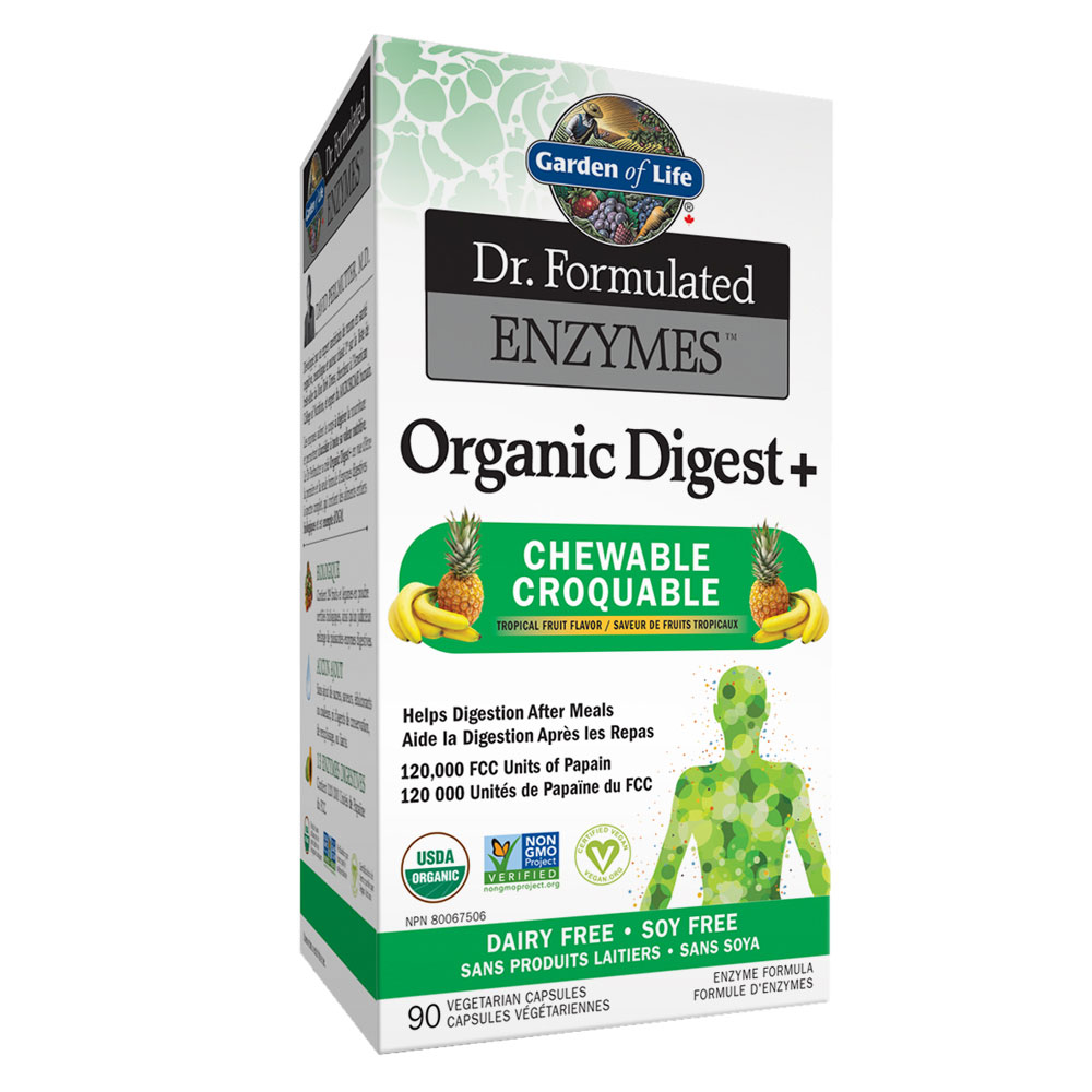 : Garden of Life Dr. Formulated Enyzmes Organic Digest+