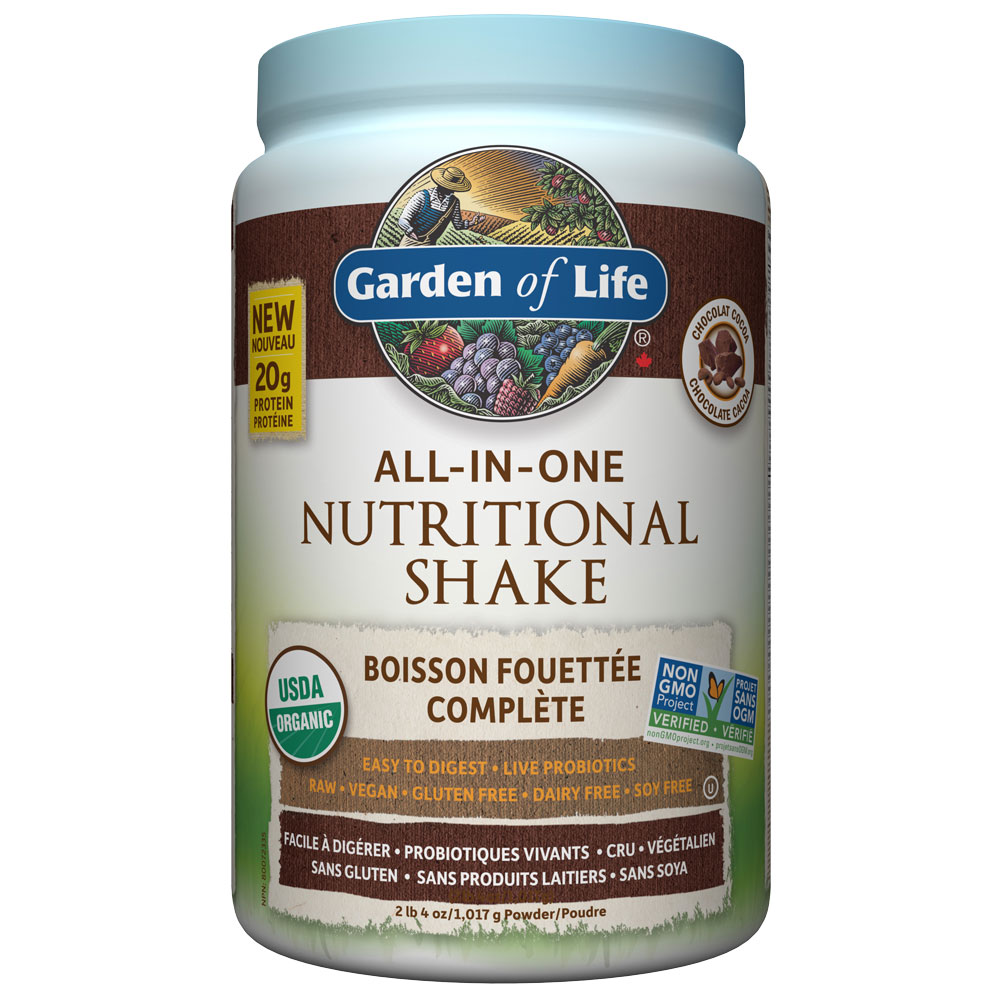 : Garden of Life All-In-One Nutritional Shake, Chocolate