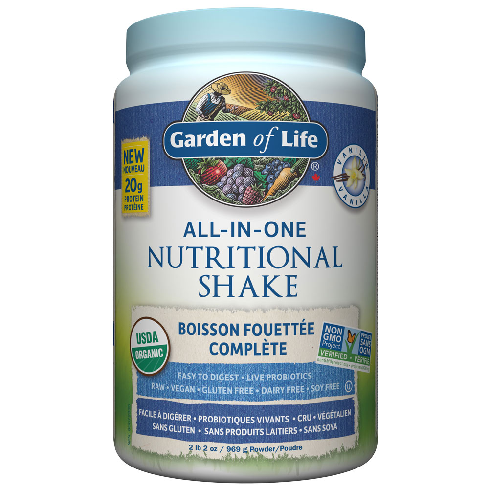 : Garden of Life All-In-One Nutritional Shake, Vanilla