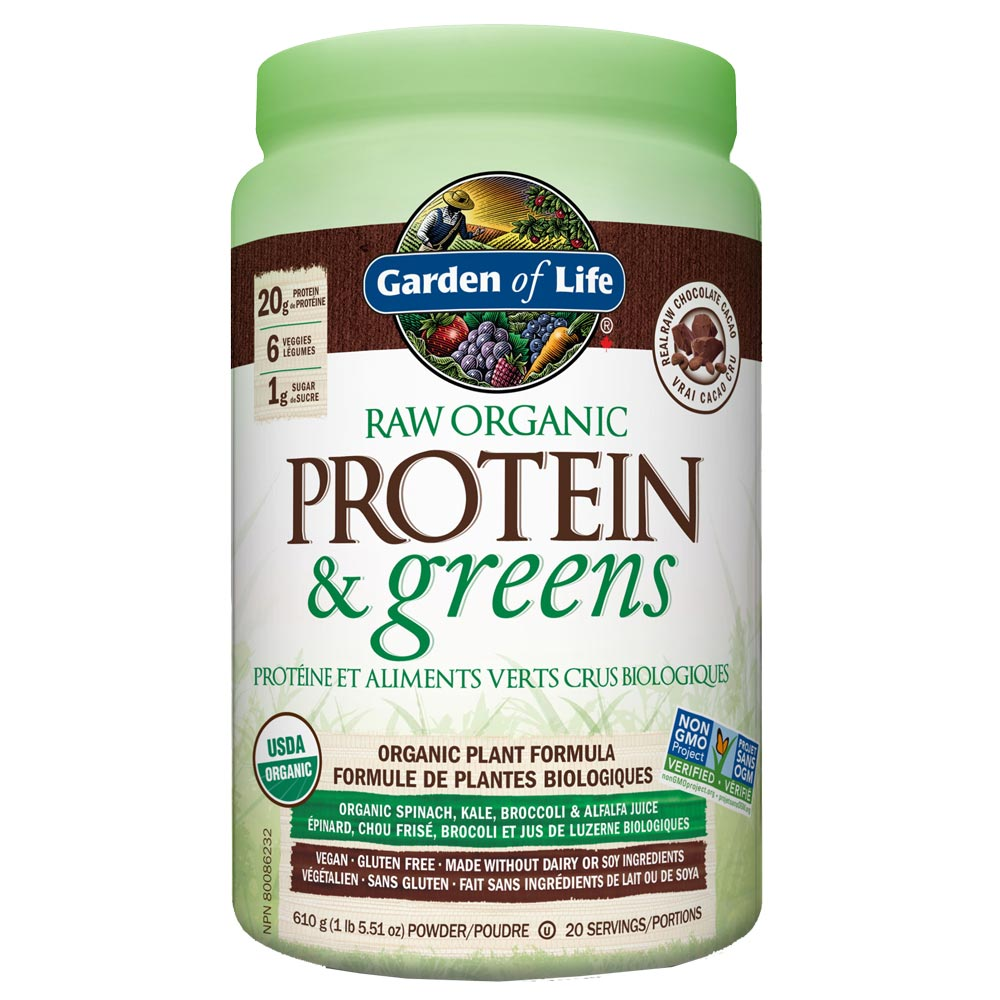 : Garden of Life RAW Organic Protein & Greens, Chocolate
