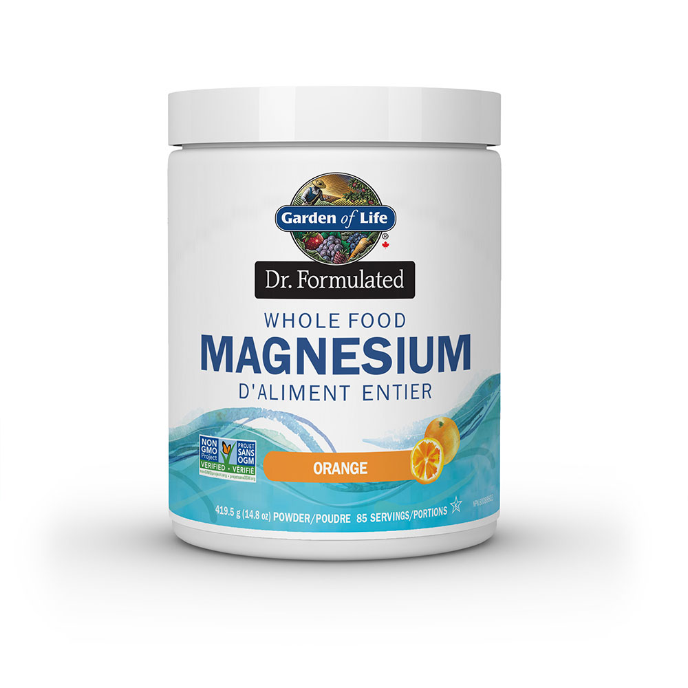 : Garden of Life Dr. Formulated Whole Food Magnesium, Orange